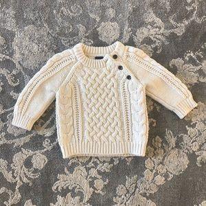 Gap Cable Knit Sweater • sz 6-12 months